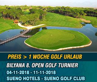 Bilyana Golf - Bilyana 8. Internationales Open Golf Turnier