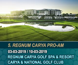 Bilyana Golf - 5. Regnum Carya Pro-Am Golf Turnier