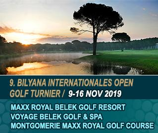 Bilyana Golf - 9. Bilyana Internationales Open Golf Turnier 2019