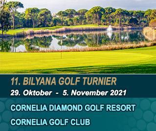 Bilyana Golf - 11. Bilyana Internationales Open Golf Turnier 2021
